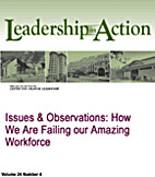 Issues & Observations: How We Are Failing…