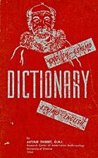 Dictionary English-Eskimo, Eskimo-English by…