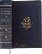 Cardozo On The Law by Benjamin N. Cardozo
