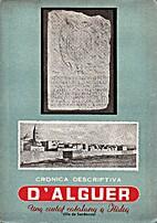 Crònica descriptiva d'Alguer: una ciutat…