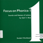 Focus on Phonics 1: Sounds and Names of…