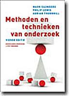 Methoden en technieken van onderzoek by Mark…