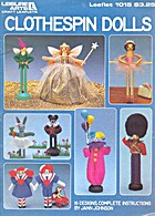 Clothespin Dolls Leisure Arts #1015 by Jann…