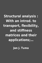 Structural analysis : With an introd. to…