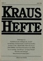 Kraus-Hefte 31 (1984)