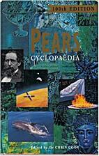 Pears Cyclopaedia 1991-1992 by Chris Cook