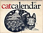 Catcalendar 1977 by B. Kliban