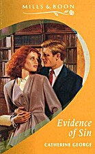Evidence of Sin by Catherine George