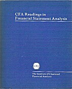CFA Readings in Financial Statement Analysis…