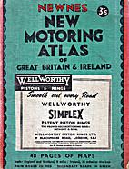 NEWNES NEW MOTORING ATLAS OF GREAT BRITAIN…