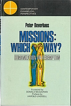 Missions: which way? Humanization or…
