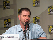 Author photo. Spectacular Spider-Man panel, San Diego Comic-Con 2007, photo by <a href=&quot;http://www.flickr.com/photos/sfpelican/&quot; rel=&quot;nofollow&quot; target=&quot;_top&quot;>Jocie SF</a>
