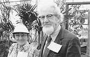 Author photo. Joseph Ewan with his wife Nesta [credit: The History of Science Society]