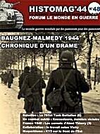 Histomag 44 - No 48 - Baugnez-Malmedy 1944 -…