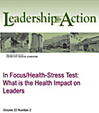 In Focus/Health-Stress Test: What is the…