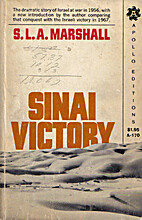 Sinai Victory by S. L. A. Marshall