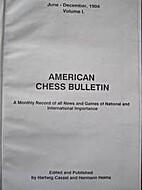 AMERICAN CHESS BULLETIN: Vol. 1 (1997…