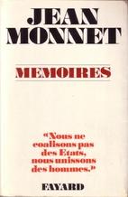 Memoirs by Jean Monnet