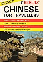 Berlitz Chinese for Travellers by Berlitz