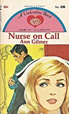 Nurse on Call by Ann Gilmer