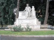 "Author photo. Monument to Belli, Rome. Photo by Flickr user <a href=""http://www.flickr.com/photos/mac9/"">mac_xill</a>."