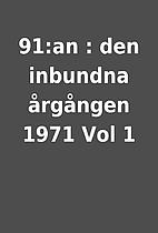 91:an : den inbundna årgången…