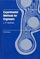 Experimental Methods for Engineers by J.P.…