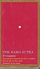 The Original Kama Sutra by Vatsyayana