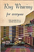 Rug Weaving for Everyone by Osma Gallinger…