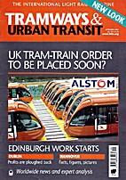 Tramways & Urban Transit, vol. 70, n°837 by…