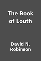 The Book of Louth by David N. Robinson