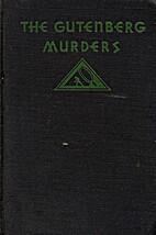 The Gutenberg Murders by Gwen Bristow