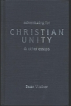 Adventuring for Christian unity & other…