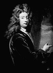 Author photo. The only known portrait of Sir George Etherege