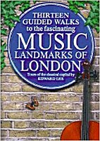 Musical London by Edward Lee