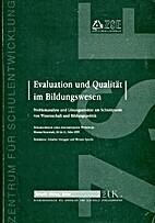 Evaluation und Qualität im…