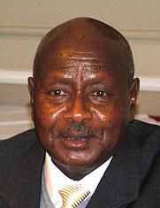 Author photo. Yoweri Museveni. Photo courtesy Chatham House.