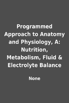 Programmed Approach to Anatomy and…