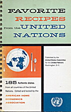 Favorite Recipes from the United Nations by…