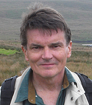 "Author photo. Alan Forbes, author of ""25 Walks In and Around Glasgow"""