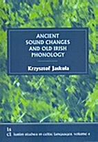 Ancient Sound Changes and Old Irish…