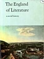 The England of Literature - a social history…