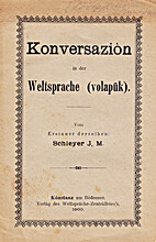 Konversazion ub der Weltsprache (volapük)…
