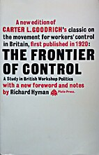Frontier of Control: Study in British…
