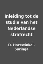Inleiding tot de studie van het Nederlandse…