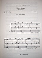 Magnificat and Nunc Dimittis Washington by…