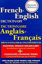 Webster's French/English English/French…