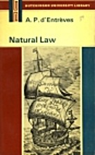 Natural Law: An Introduction to Legal…