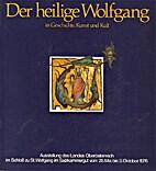 Der heilige Wolfgang in Geschichte, Kunst…
