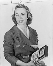 Author photo. World Telegram photo by Phyllis Twacht, 1957 (Library of Congress Prints and Photographs Division, LC-USZ62-117953)